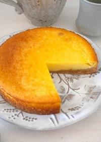 <旬の果物>みかんのチーズケーキ