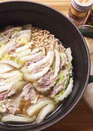 白菜 豚肉 ミルフィーユ 鶏 ガラ