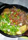キャプスキで鶏レバーの醤油麹炒め