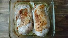 【常備菜】オーブンで焼くだけサラダチキン