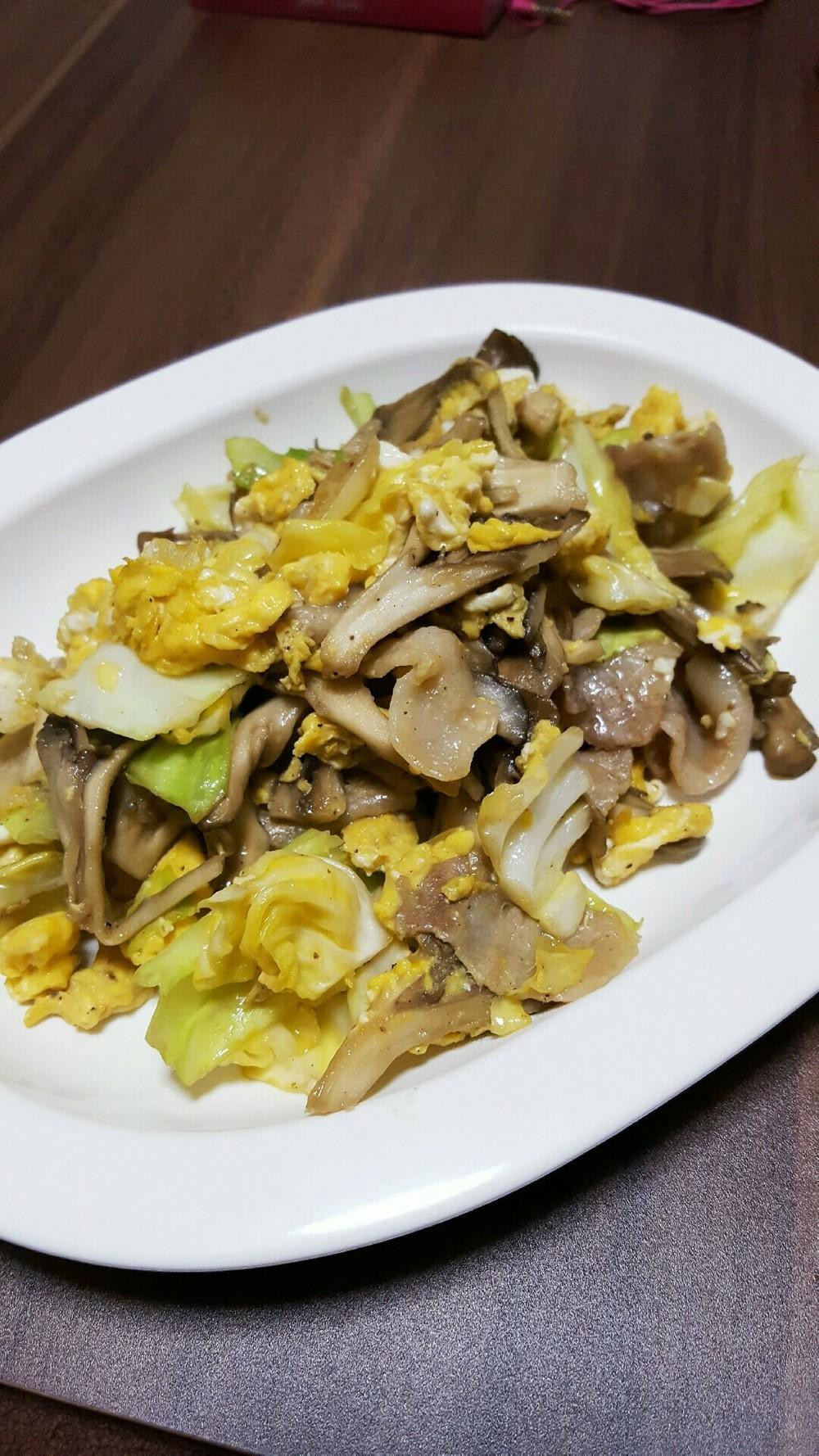 卵の炒め物レシピ