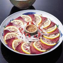 ぶりの橙マリネ中華風