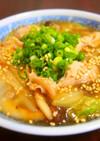豚肉と白菜のあんかけ炒め