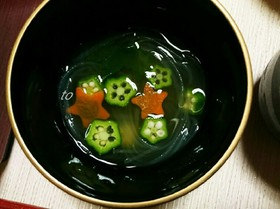 天の川スープ.+*:゚+。.☆ (和風はるさめスープ)