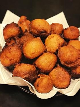 糖質制限◆おからパウダーの簡単ドーナツ