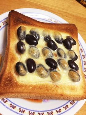 黒豆トースト