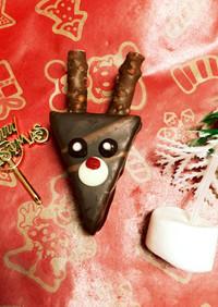 クリスマスに☆市販のお菓子で簡単トナカイ