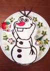 クリスマス!キャラケーキ☆アナ雪 オラフ