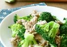 豚肉とブロッコリーのゆず胡椒炒め
