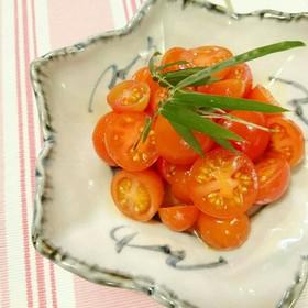トマト柚子胡椒和え