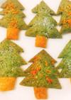 簡単☆クリスマス版お茶のサクサククッキー