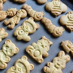 型抜きしやすいクッキー
