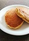 離乳食に★オートミールパンケーキ