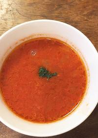 超簡単!シンプルなトマトスープ