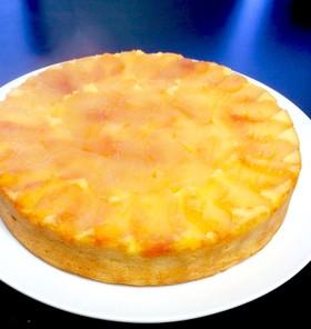 おからとリンゴのふわふわ♡チーズケーキ♡