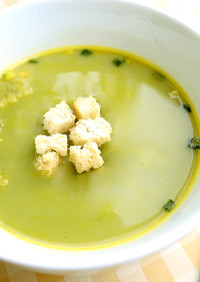 お手軽レシピ!青汁カボチャスープ