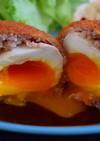 とろとろ半熟卵のスコッチエッグ