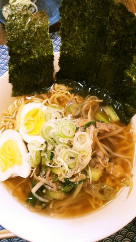 マルちゃん正麺醤油味のセロリラーメン