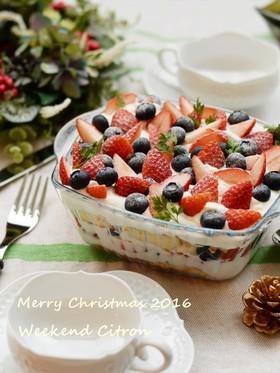 クリスマス☆簡単!可愛い♡スコップケーキ