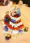 アナと雪の女王ケーキ♡Xmas