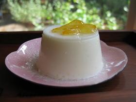 オリゴ糖de柚子ヨーグルトプリン