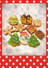 アイシングクッキー クリスマス2016