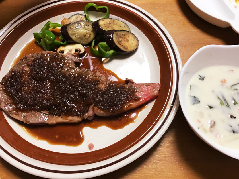 NHKあさイチより、家庭でお手頃ステーキ