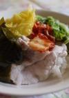 白菜と柔らか豚肉で♡ランチ