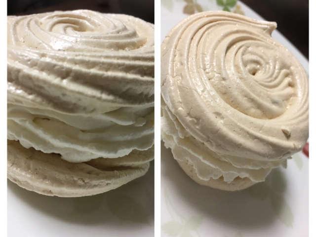 材料2つでメレンゲケーキ♡