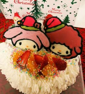 簡単♡デコチョコ♡キャラクターケーキ