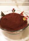 簡単!オレオと生チョコのスコップケーキ