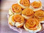 かんたん!巻きバラのミニアップルパイの写真