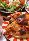 ★クリスマス 鶏の丸焼き ピラフ入り