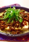 麻婆豆腐 スキレット レンジで簡単。
