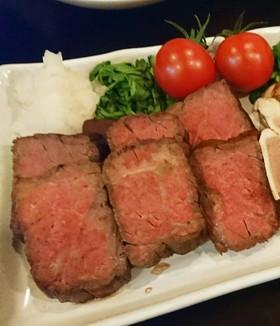 名店「菊乃井」の和風ローストビーフ