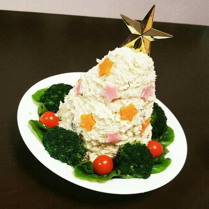 ポテサラツリー☆ポテトサラダ☆クリスマス