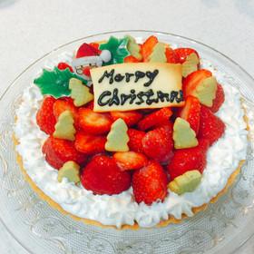 クリスマスケーキ☆いちごタルト