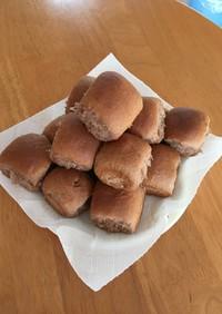 ホイップの余りでちぎりパン
