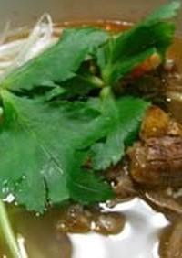 牛テールスープ DE 麺