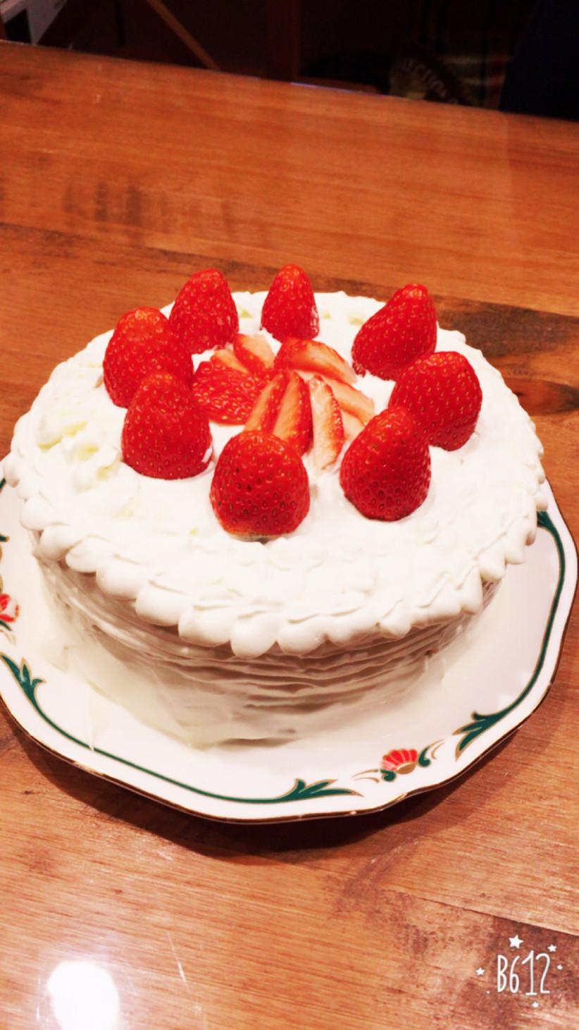 初心者がつくる! クリスマスケーキ