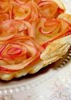 冷凍パイシートで簡単巻きバラアップルパイ