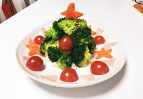 簡単♥クリスマスツリーポテトサラダ