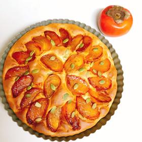 ☆簡単☆秋の柿ケーキ