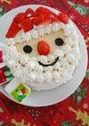 1歳からのクリスマスケーキ