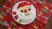1歳からのクリスマスケーキの写真