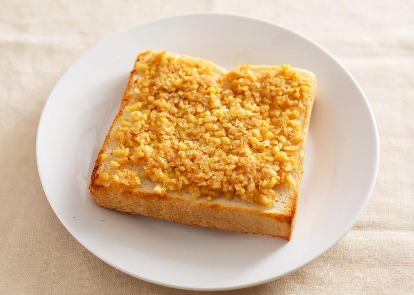 つぶつぶ♪大豆味噌トースト