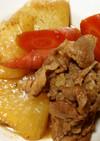 牛肉と聖護院大根の煮物