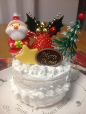 簡単離乳食モグモグ期のクリスマスケーキ