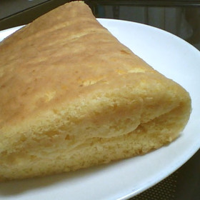 トースター de ふわふわスポンジケーキ