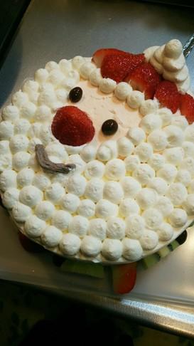 クリスマス サンタ ケーキ